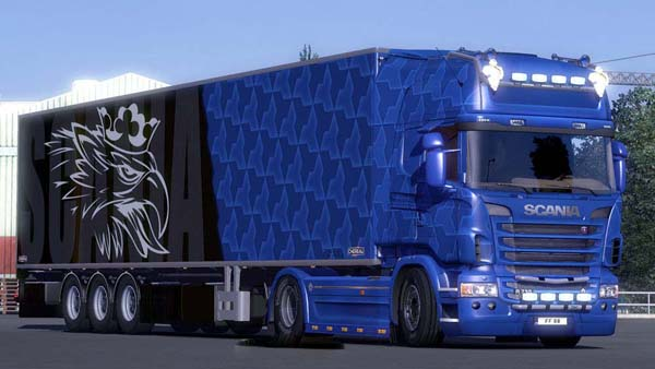 Blue Scania Combo Pack
