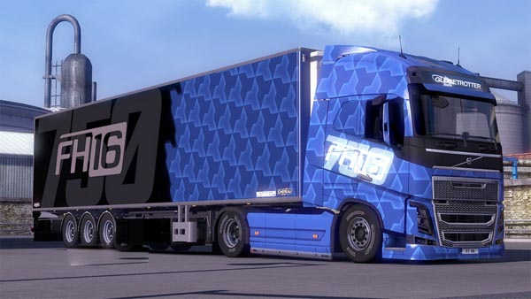 Blue Volvo FH16 Combo Pack