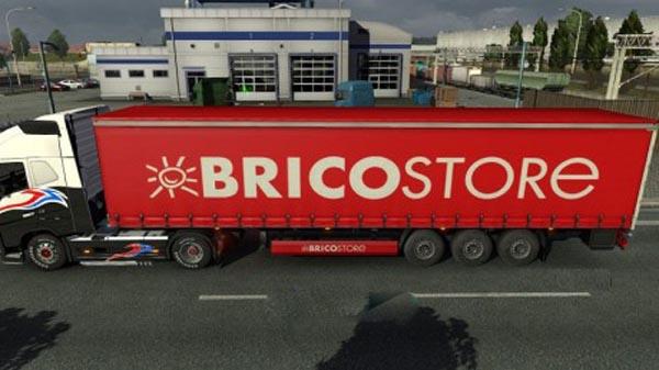 Bricostore trailer