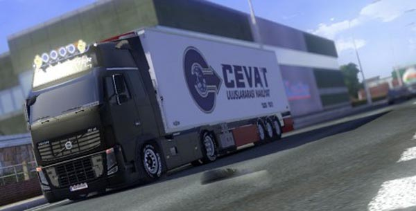 Cevat Co International Transport Trailer