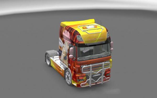 DAF Fairy Tail Skin