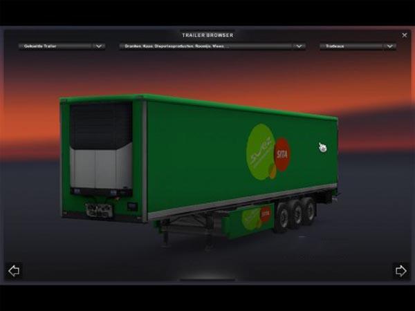 Dutch Recycling standard trailers
