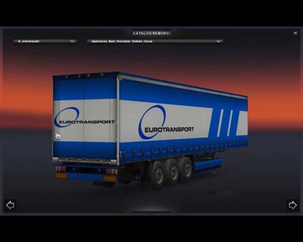 EuroTransport trailer