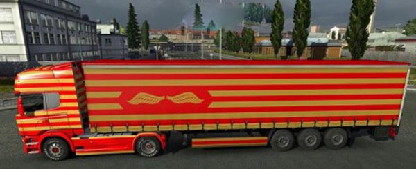 Floombargh Streamline skin + trailer