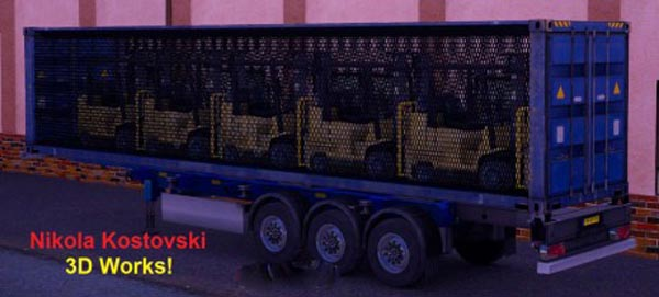 Forklift Container Trailer
