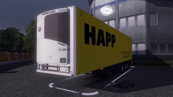 Happ Trailer + Skin
