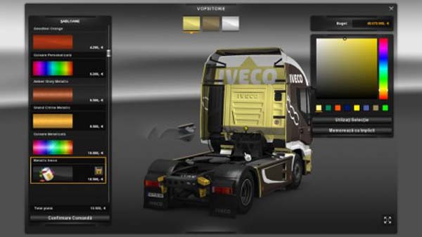 Iveco Hi Way Metallic Skin