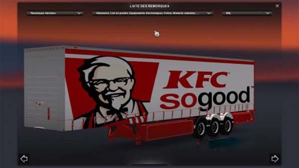KFC Trailer Skin