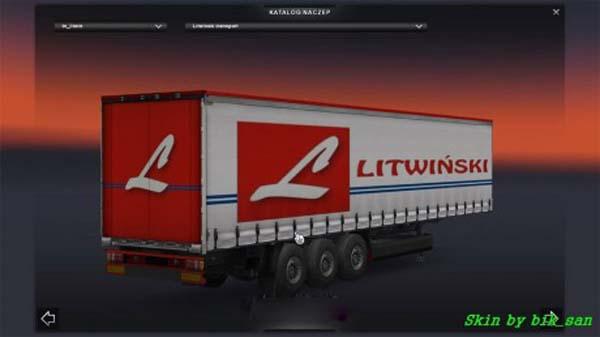 Litwinski trailer skin