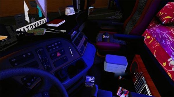 Mercedes Actros 1858 + Interior