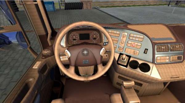 Mercedes Actros Leather Interior