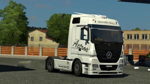 Mercedes Benz Actros skin