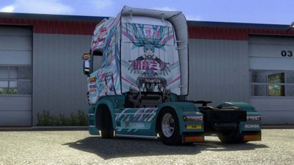 Miku Scania Combo Pack