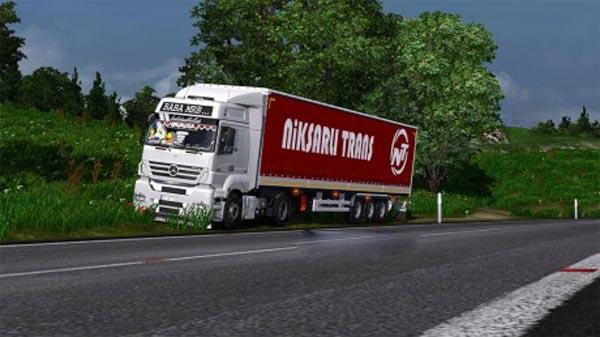 Niksarlı Trans custom trailer