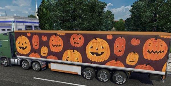 Orange Halloween Trailer