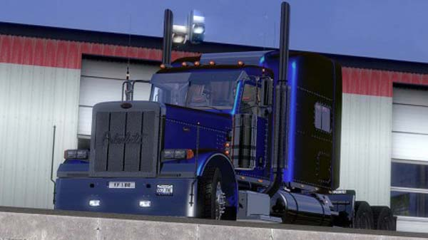 Peterbilt 389 Metallic Skin