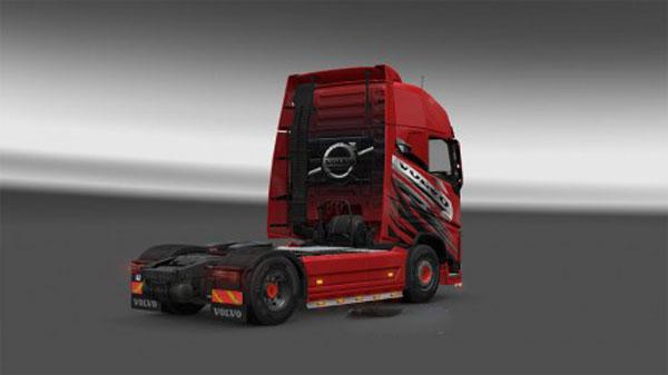 Red Volvo Skin