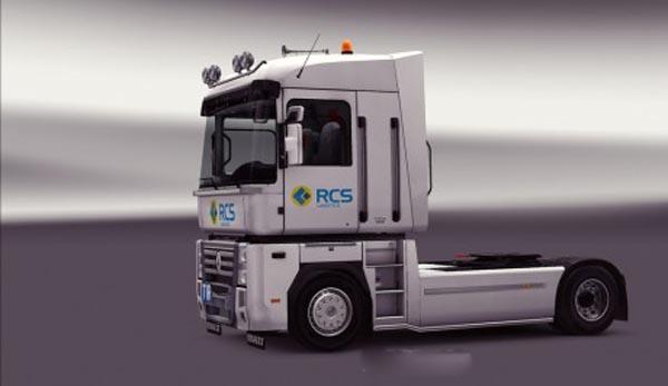 Renault Magnum RCS Logistics Skin