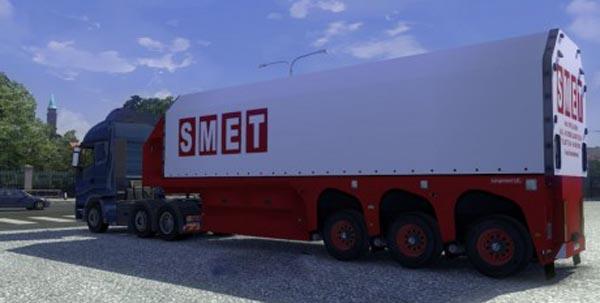 SMET Transport Glass Trailer