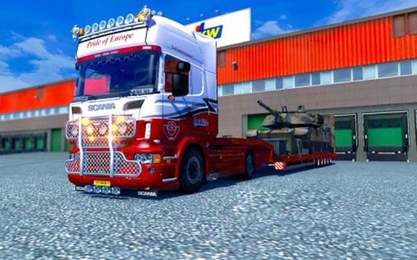 Scania – Pride of Europe Paintjob