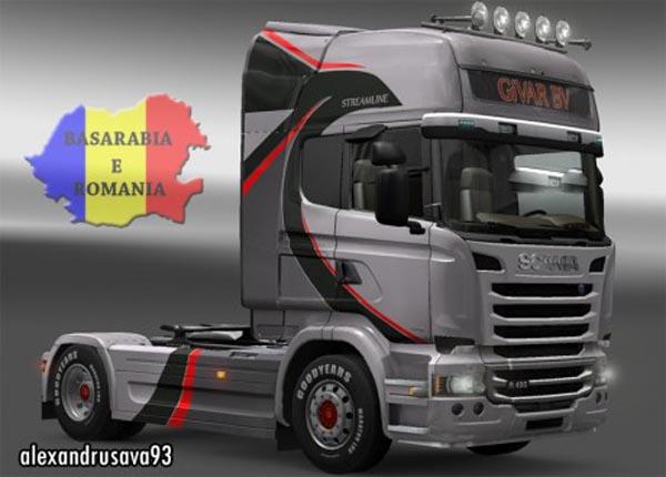 Scania BiVAR BV skin