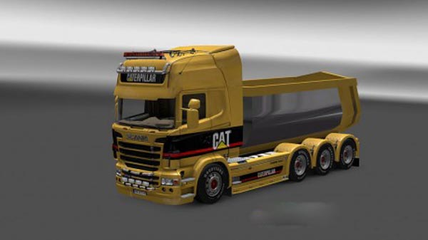 Scania Caterpillar Skin