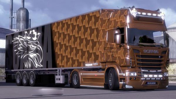 Scania Combo Pack (Brown)