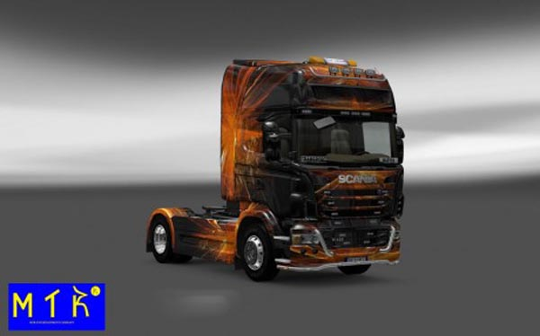 Scania Cubical Flare Skin