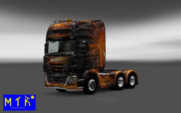Scania Cubical Flare Skin