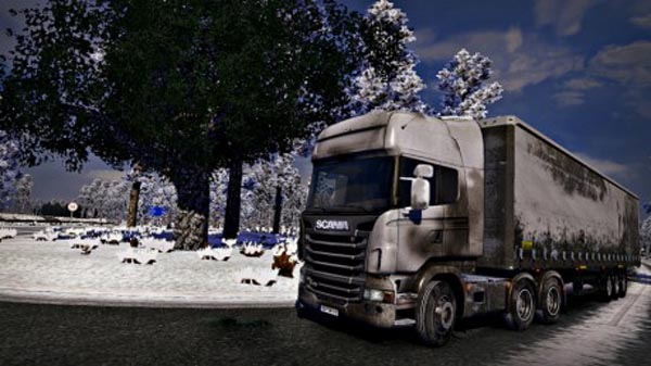 Scania Dirt Skin