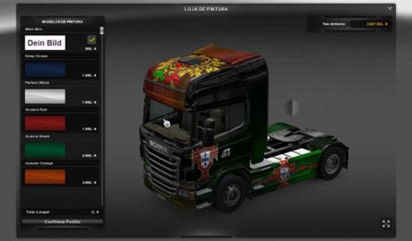 Scania Portugal Skin