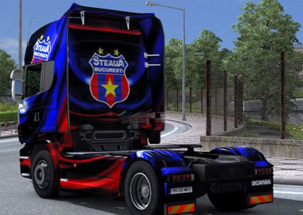 Scania Skin Steaua Bucharest