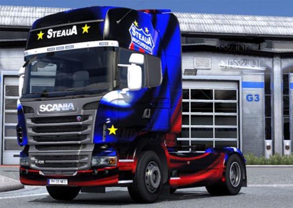 Scania Skin Steaua Bucharest