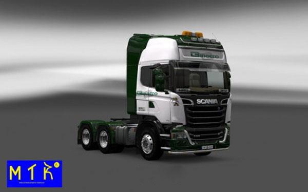 Scania Streamline Binotto Skin