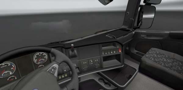Scania Streamline Black Board