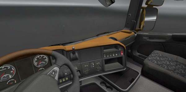 Scania Streamline Brown Board