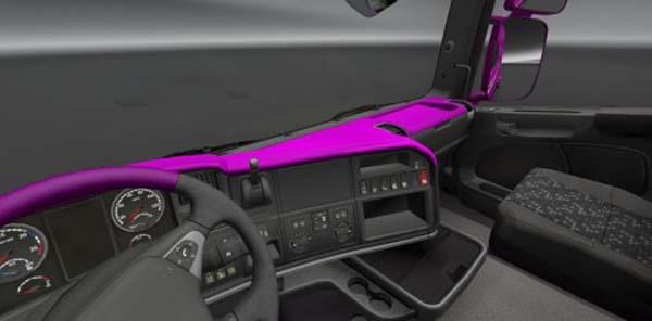Scania Streamline Dark Pink Board