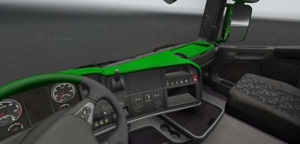 Scania Streamline Green Board