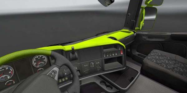Scania Streamline Lime Board
