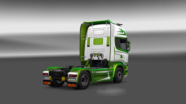 Scania Streamline Metallic Skin