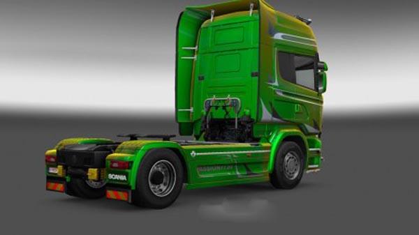 Scania Streamline R730 Passion Metallic Skin