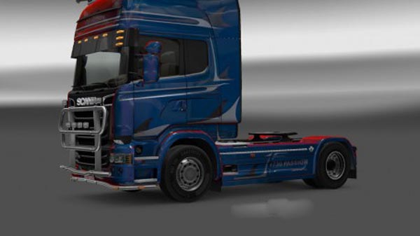 Scania Streamline R730 Passion Metallic Skin