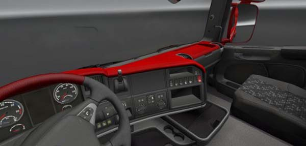 Scania Streamline Red Board