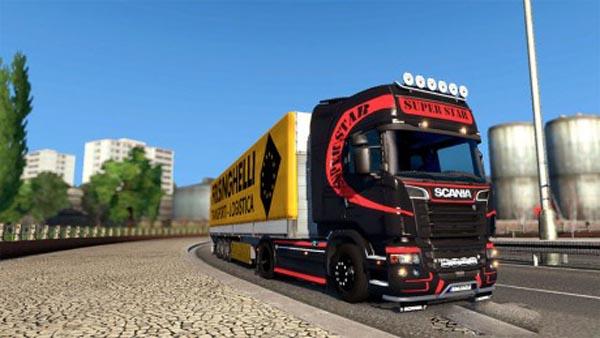 Scania Super Star Skin