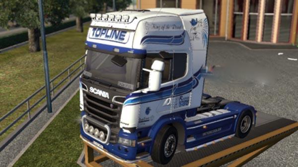 Scania Topline R580 Skin
