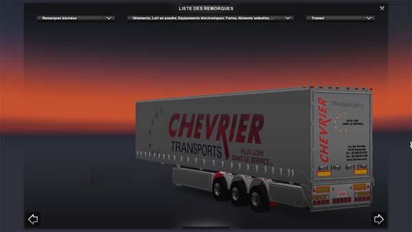 Schmitz Chevrier trailer