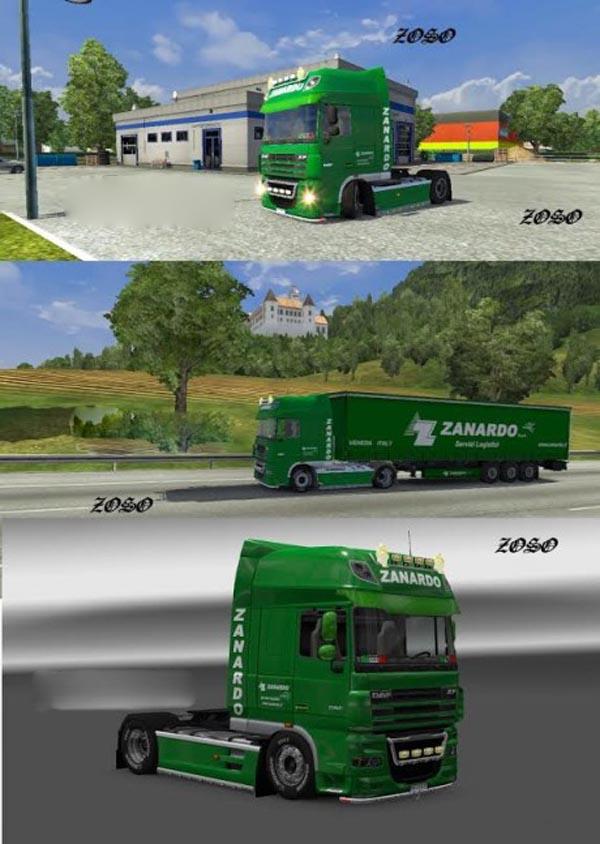 Skin DAF XF-Zanardo logistica