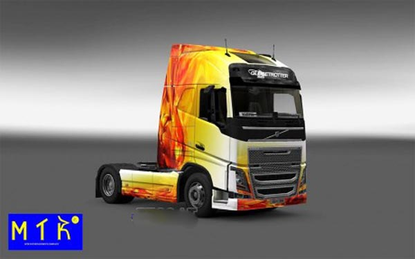 Skin Volvo FH 16 2012 Flame
