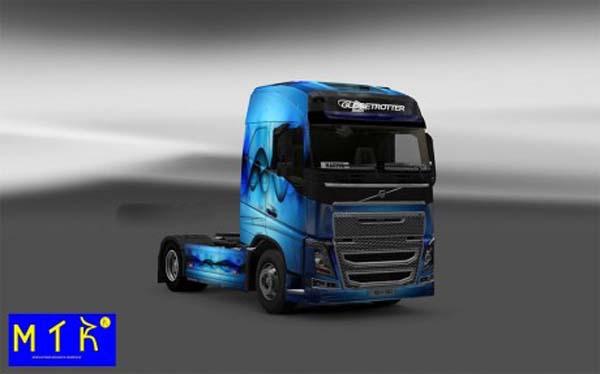 Skin Volvo FH 2012 Allfons