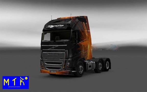 Skin Volvo FH 2012 Cubical Flare